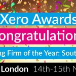 BVSA won the XERO Emerging firm of the year reward in London!